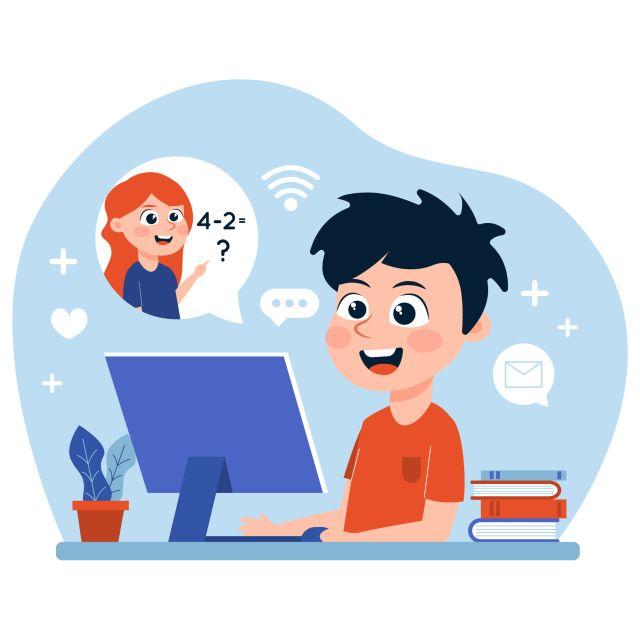 Refuerzo escolar virtual